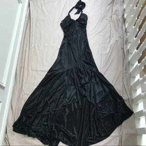 City Triangles NWT High-Low Black Homecoming Dress